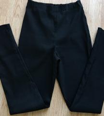 Crne pantalone visoki struk