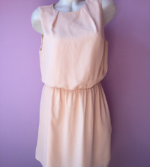 H&M elegantna roze haljina