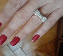 Rasprodaja!Mašnica,srebrni prsten
