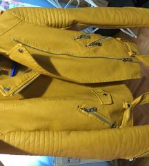 Zuta/oker kozna jaknica  3000