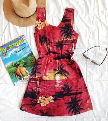 Tropska mini haljina