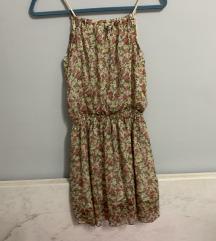 Cvetna haljinica/ snizeno 200