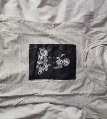 Siva majica Merlin Monro uni vel