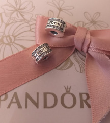 Pandora logo klipsa