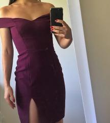 Haljina šivena po meri sa golim ramenima