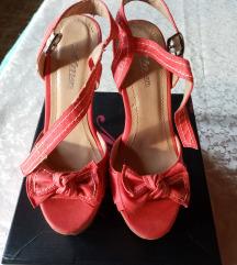 Crvene sandale platforma RASPRODAJA 700