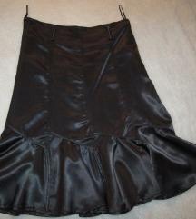 Satenska suknja 38vel