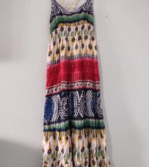 Duga vintage haljina, akcija 850