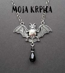 Gothic metal ogrlica slepi mis