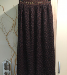 Dugacka *vintage* suknja snizena