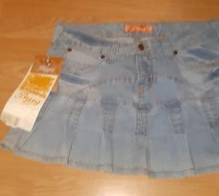 Mini teksas suknjica