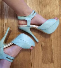 Sandale tirkizne POVOLJNO