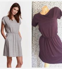 H&M ✿ wine basic dress ✿