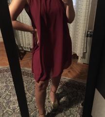 Bordo haljina nova