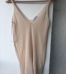 Zara majica na bretele nude