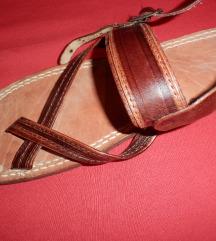 NOVE kožne sandale-japanke ručni rad