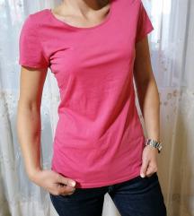 Roza pamucna majica