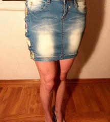 Teksas suknja - NOVO sa etiketom