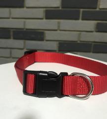 Crvena ogrlica M
