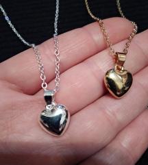 Zlatno ili srebrno srce