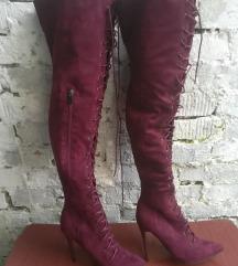 Čizme iznad kolena Ideal shoes broj 38