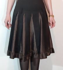 Elegantna suknja sa karnerima i volanima