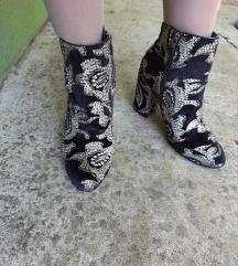 Kate Gray ekskluzivne cizme sa zlatovezom 25cm
