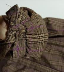 Karirana jakna za prolece NOVO S/
