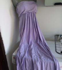 Duga lila top haljina M/L