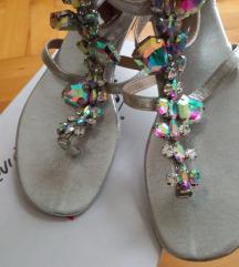 Sandale rimljanke sa cirkonima