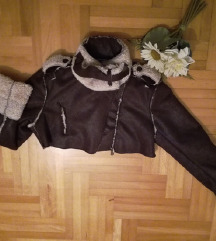 RINASCIMENTO jaknica postavljena toplim krznom S/M