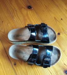 Crne zenske papuce!!