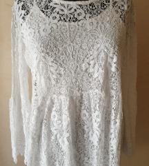 Bela haljina od cipke