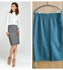 Siva pencil suknja M38