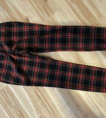 Karirane Zara pantalone (nove)