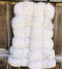 Nov krzneni prsluk od polarne lisice