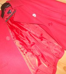 NOVO H&M crvena jaknica/kaputic M