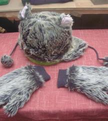 Zimska kapa i rukavice - decije