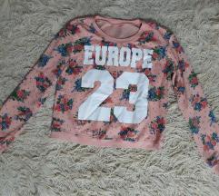Pink cvetni duks