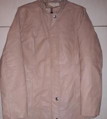 Svetlo braon jakna