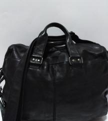 Rover&Lakes velika torba 100%koža 37x30x14