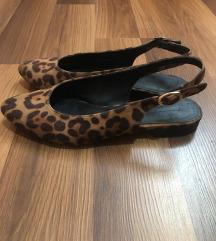 Leopard ravne sandale