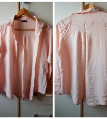 košulja boja kajsije, viskoza 100%
