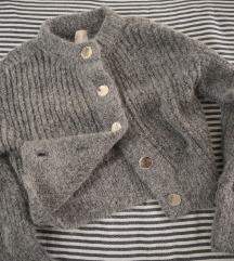 Chunky knit HM dzemper od vune alpake