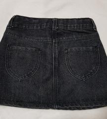 George tamnosiva teksas suknja kao nova 7/8 god