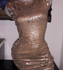 Svetlucava haljina XS/S SNIZENO SA 3000