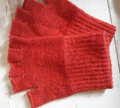 Rukavice crvene bez prstiju