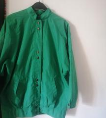 Retro zelena jakna