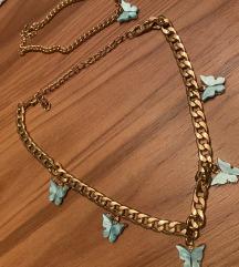 Ogrlica i narukvica leptir