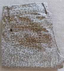 Freshmade print pantalone M